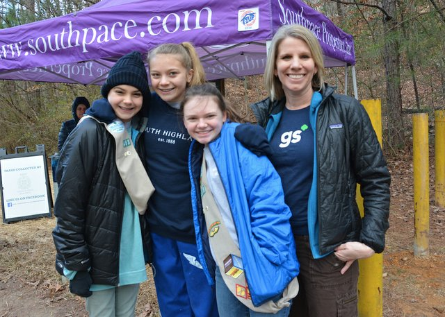 Girl Scouts take the lead
