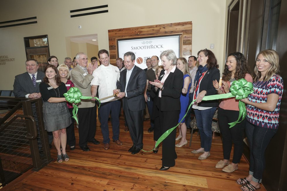 SmoothRock Ribbon Cutting