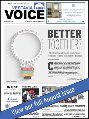 Vestavia Voice August 2018