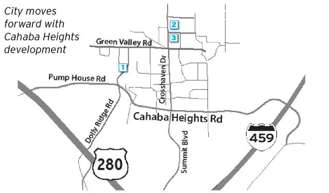 Cahaba Heights development