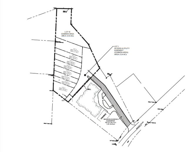 Massey Road townhomes map