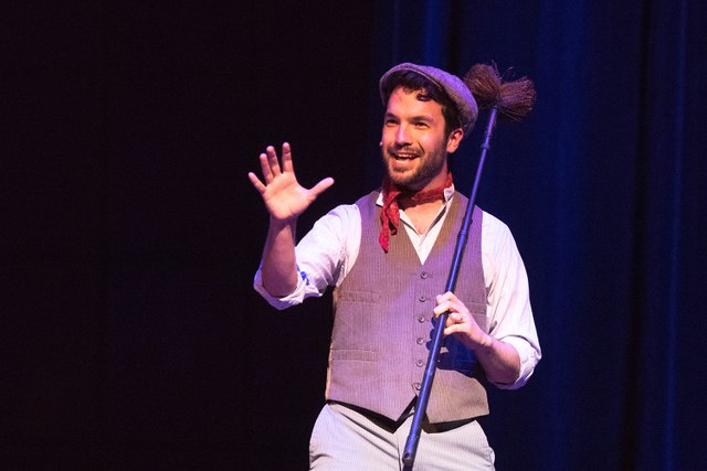 Davis Haines performing a song from Mary Poppins.jpg