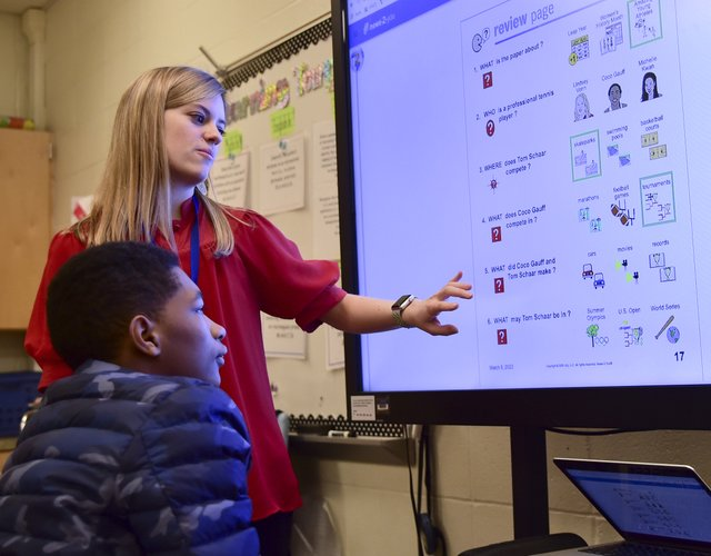 Vestavia Hills Special Education Classroom Tech
