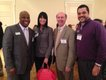 FEB VV Chamber Recap pic 4 - Stephen Washington and Rebekah Boggan, both of Movement Mortgage, with Andrew Graffeo of Graffeo Financial Services and Marco Turner, also of Movement Mortgage.jpg