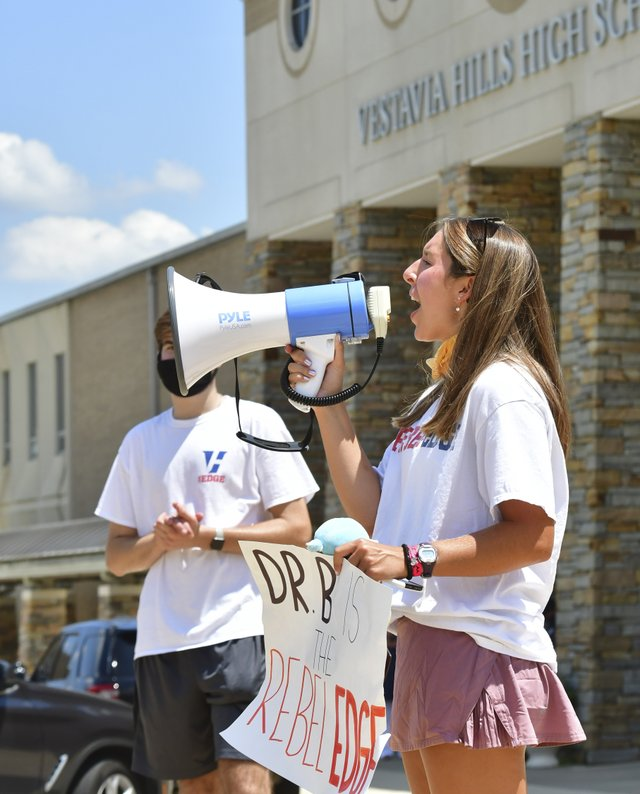 Rally for Dr. Burgess