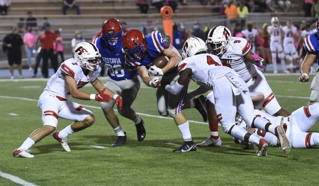 Hewitt-Trussville at Vestavia Hills football