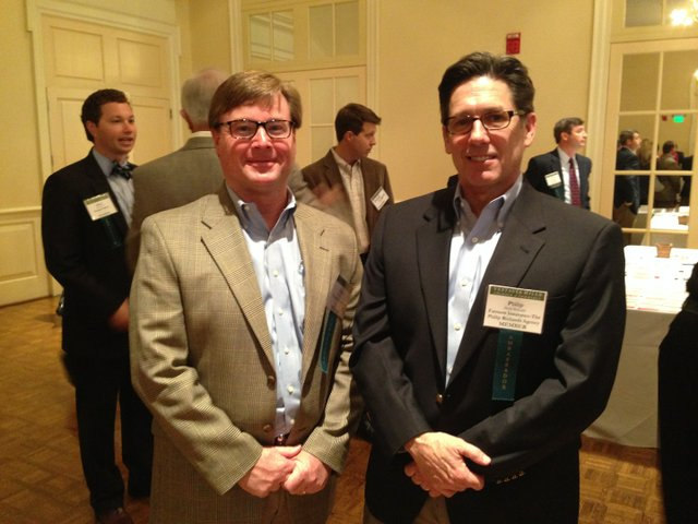 APR 15 VV Chamber Luncheon - Chuck Conour, Conour Insurance and Philip Richards, Farmers Insurance.jpg