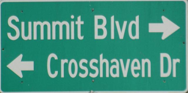 Summit Blvd. Crosshaven Dr.