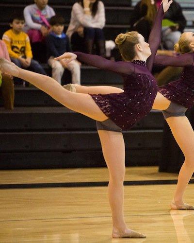 Addie dancing