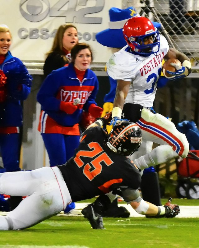 Vestavia ground game stands tall