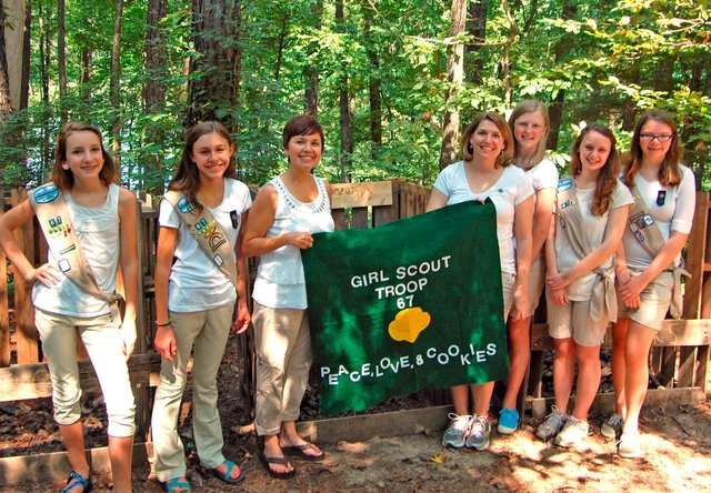 Troop 30067 Earns Silver Award