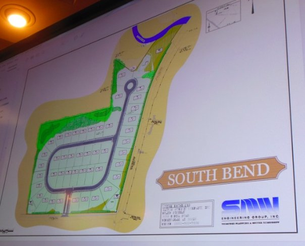 South Bend map