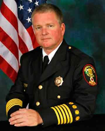 Fire Chief James R. St. John