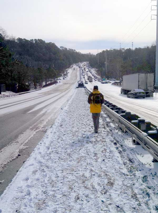 Winter Storm Leon 280 280 is impassable in many areas.