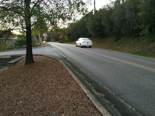Massey Road sidewalk 1