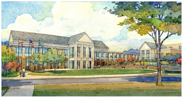 City Hall rendering