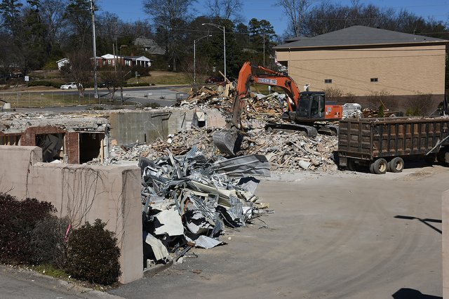 Vestavia Hills Municipal Center Demolition 10.JPG