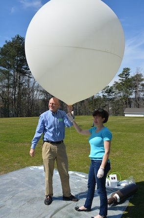 Pizitz Weather Balloon Launch