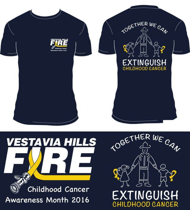 Fire Department Starts Fundraiser For Childhood Cancer