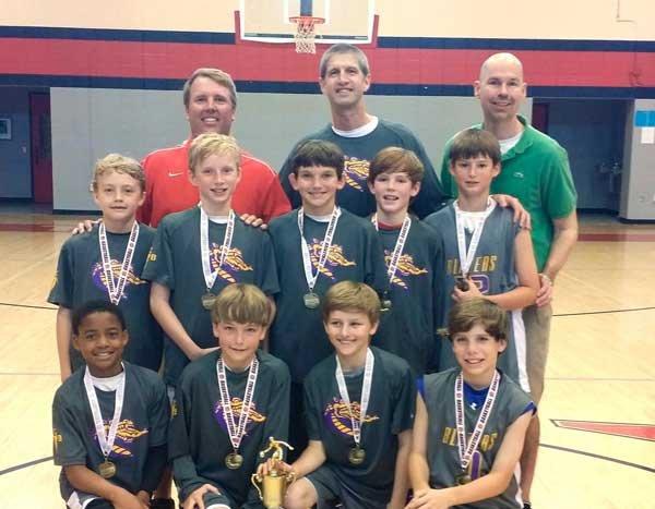 Fourth-grade Blazers take runner-up at regionals