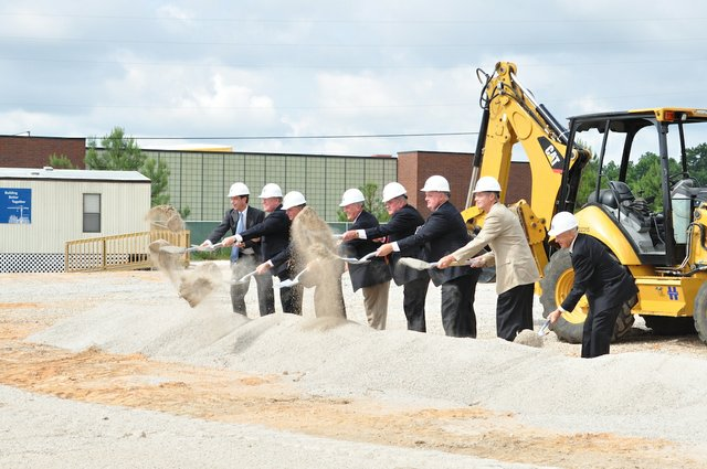 City Hall groundbreaking ceremony 2