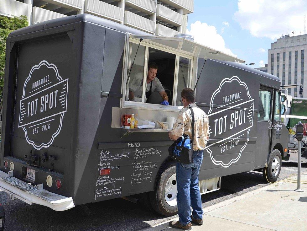 Tot Spot Food Truck Birmingham Menu