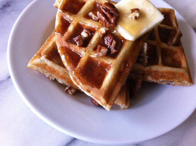0613 Banana Bread Buttermilk Waffles Recipe