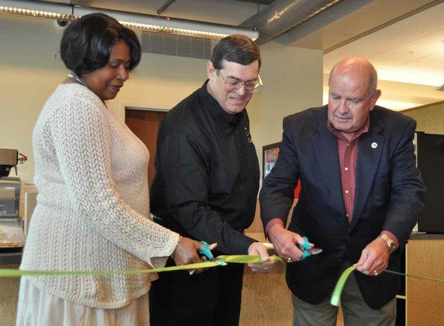 0613 Library Lift Ribbon Cutting