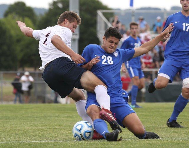 Vestavia VS Oak Mountain Boys Soccer SemiFinals 2017