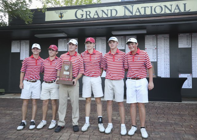 Vestavia boys golf 2017