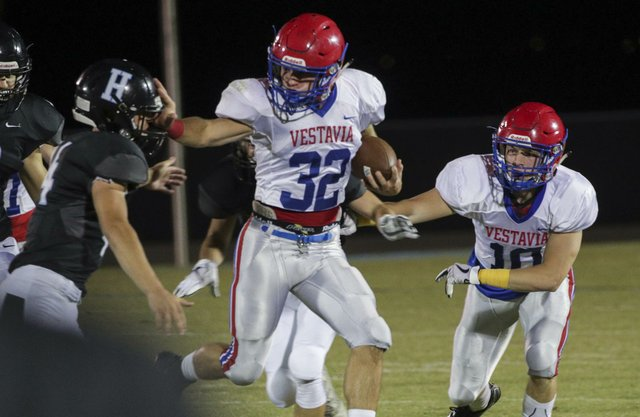 Vestavia Hills Football at Helena