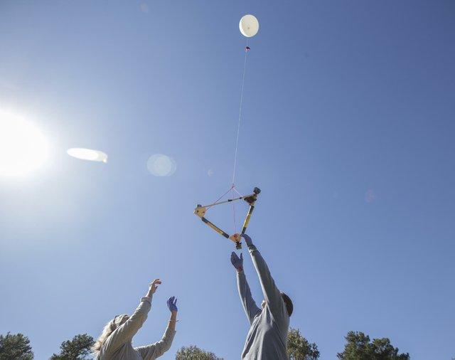 Pizitz Weather Balloon