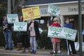 Overton Village Protest